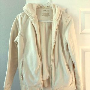 LLBean from zip hooded sweatshirt